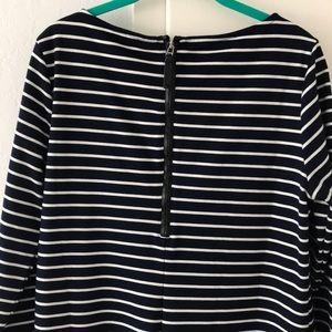 GAP Dresses - GAP Women's Medium navy & white striped Dress